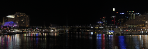 Sydney Darling Harbour Panorama by Onigiripencil