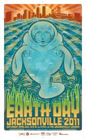 EarthDayJacksonville 2011 Poster Art by pixieartdesigns