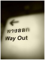 Way out by Olivares