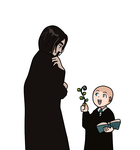 Herbology with Snape base by Basemakerofdarkness