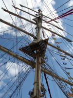 Delfsail 2003 - Masts and Rope by jxp3397