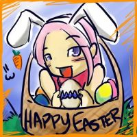 """HAPPY EASTER WOMAN o.o"""" by keonivex"""