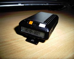 Alan Bradley's Pager by Pencilshade