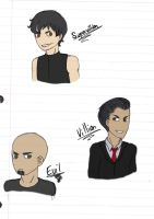Humanized: Evil, Villain, Supervillain by TheSilentSiren