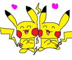 pika lovin' by PokemonArteest