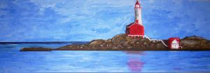 Painting:Lighthouse by Crevist