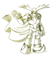 Lord Brevon - Sketch by R-No71 by SpacemanStrife