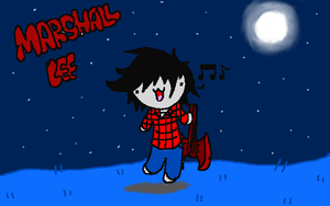 Adorable Marshall Lee Chibi by GalaxyCookie