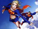 Supergril + Superman - Family by trktrx