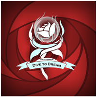 The Cherries new logo: Dive to dream by Vinyl-unheart