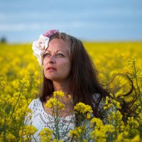 In the rapeseed field (9) by Avahlon-Stock
