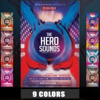 THE HERO SOUNDS MEMORIAL DAY SPECIAL FLYER by MCerickson