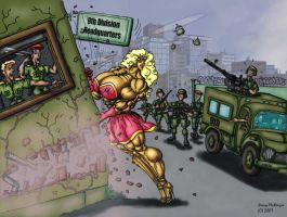 0108 DemolitionGirl color by Jennysartwork