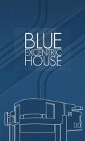 BLUE EXCENTRIC HOUSE by RGBvsCMYK