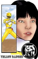 Yellow Ranger Trini by TheFireAngel