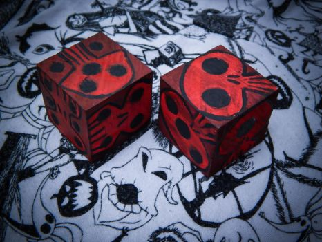 Oogie Boogie's Dice by Lustuad