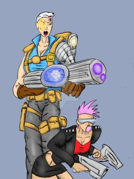 A Cable-esque Zarya skin by coomanfu