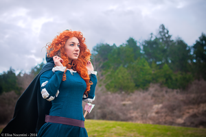 Merida - Brave by oShadowButterflyo