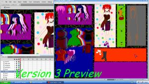 DressUp Lila Version 3 Preview by xxDraconikaxx