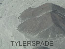 Nazca lines: The Little Man by Tylerspade