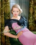 Bette Davis ~~ colourised by Maria-Musikka