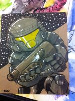 Lil Dude ODST by MARR-PHEOS
