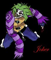 Joker colored by Angus99