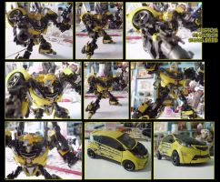 custom BT Bumblebee by hinomars19
