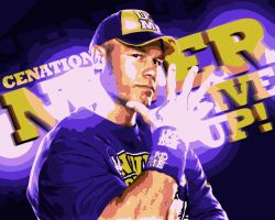 John Cena Vector by AyeshMantha