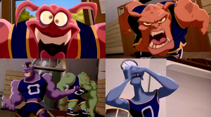 Here Comes The Monstars (Space Jam) by dlee1293847