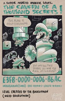 Mario Maker: The Cavern of a Thousand Secrets by TheBourgyman
