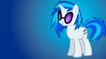 Vinyl Scratch Wallpaper by Shelmo69