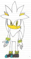 Silver the Hedgehog by SonicFan3