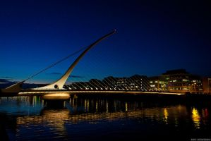 Samuel Beckett Bridge, Dublin by aryss-skahara