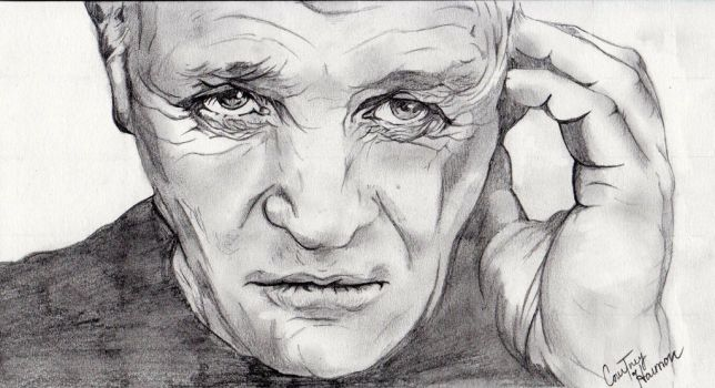 Anthony Hopkins by passiononpaper