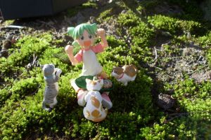 Yotsuba in the Wood by RealFlamefire
