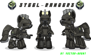Steel rangers by Vector-Brony