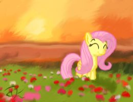 Field of Fluttershy by InternationalTCK