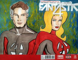 Mr Fantastic/ Invisible Woman by seanpatrick76