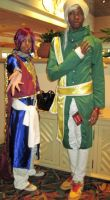 Prince Soma and Agni by TheSapphireDragon1