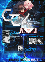 MAL profile layout for HitzSchorCher - GuiltyCrown by relic-san