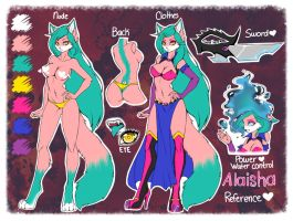 .:Alaisha New Reference:. by AlaishaTheWolf