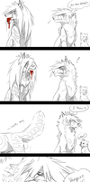 Super Sketchy Mini Comic by xKoday