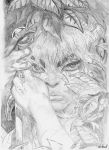 ElfQuest Cutter BW by EnilociN