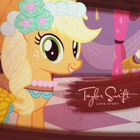 Taylor Swift - Love Story (Applejack) by AdrianImpalaMata
