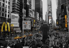 time square new york by Jeuk123