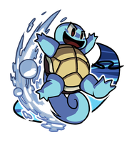 Squirtle by Smearg