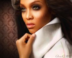 Tyra Banks by 093374