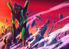 Eva Unit 01 by manzr