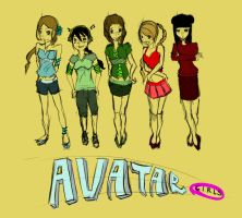Avatar Girls by TheChicEffect